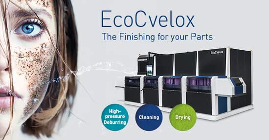 EcoCvelox – La macchina universale per la sbavatura e il lavaggio
